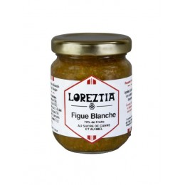 Confiture Artisanale FIGUE BLANCHE pot 100g